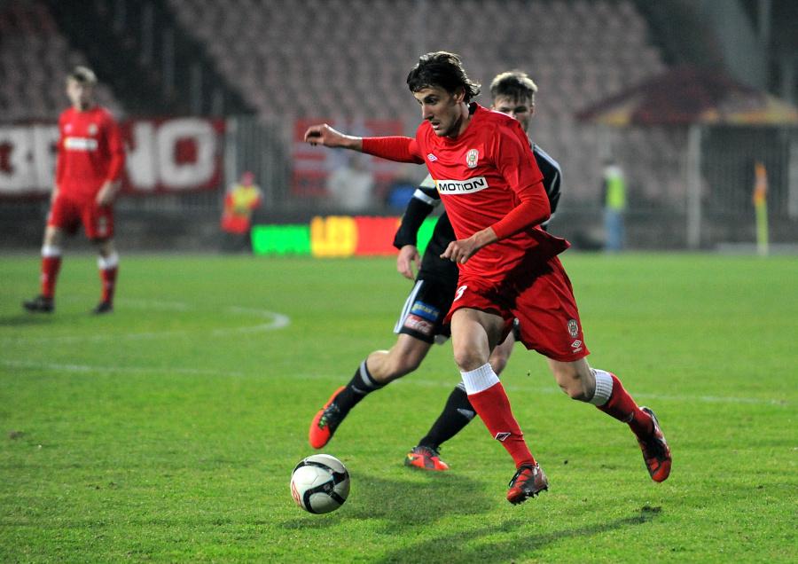 Martin Sus v dresu FC Zbrojovka Brno